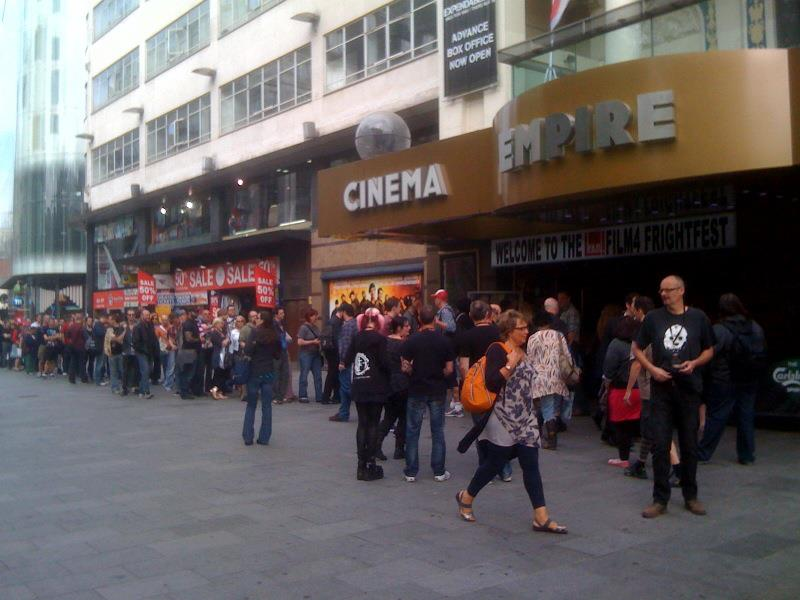 Occupy Midian On Location : Empire Cinema, London 8-24-12