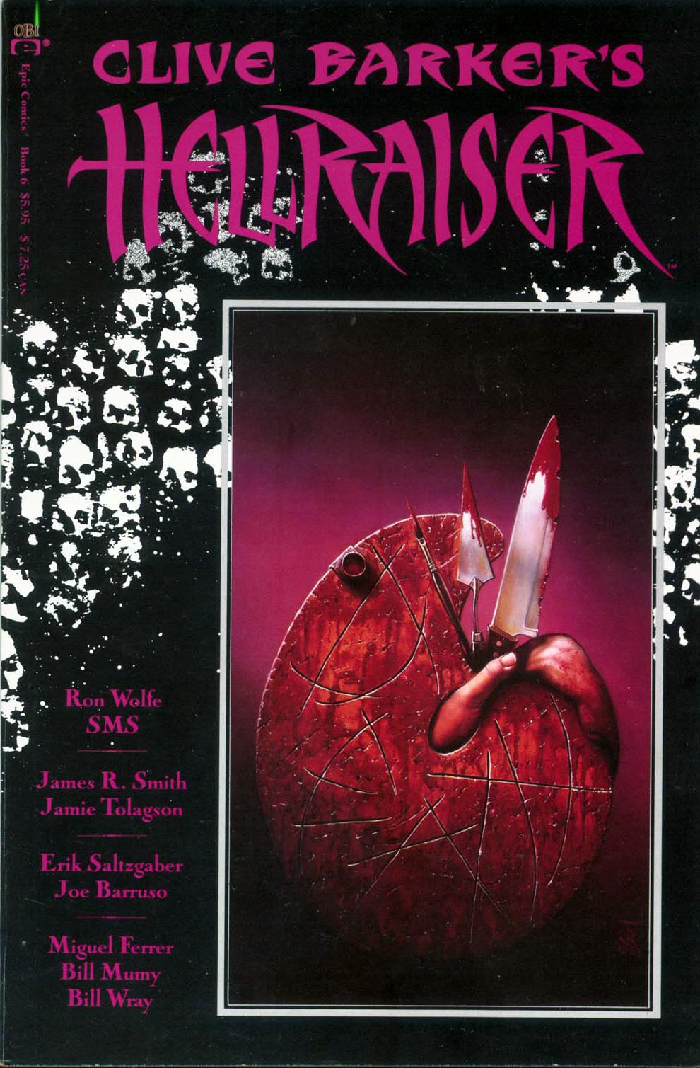 Clive Barker's Hellraiser issue 6 Retro Review