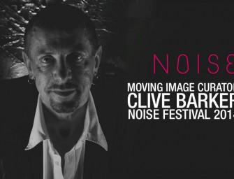 NOISE Festival.com reveals Clive as Film Curator
