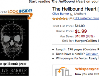 Hellbound Heart and Mister B. Gone just $1.99 Today Only!