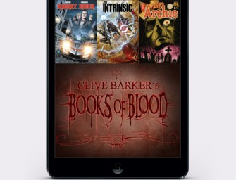 Clive Barker's Books of Blood coming to Madefire Motion Books Platform