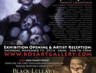 The Fourth Annual MALEFICIUM Dark Art Exhibition featuring Clive Barker Art!!!
