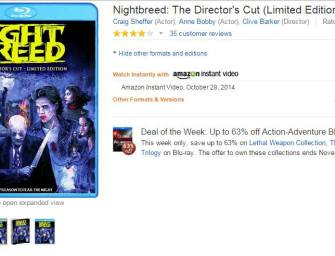 Nightbreed Limited Edition available for download at Amazon!!!