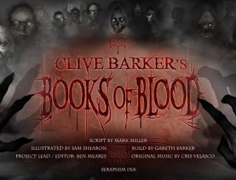 New Interview with the Composer of Books of Blood Motion Comics!!!