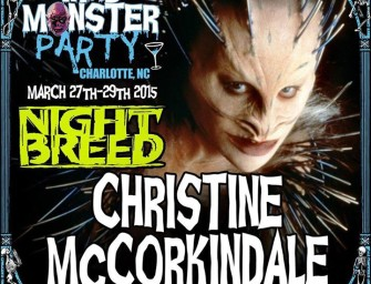 Chris McCorkindale will be at MAD MONSTER PARTY!!!