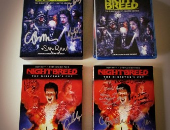Collector's Corner: Autographed Nightbreed Blu-Ray