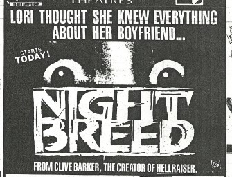 Today is Nightbreed's 25th Anniversary!