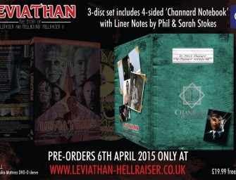 Leviathan 2-disc and Limited 3-discs Edition sets are READY TO GO!!!