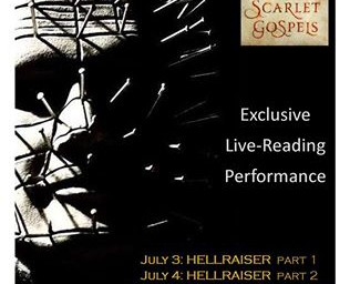 Another Hellbound Heart and Scarlet Gospels Live Reading Announced!!!