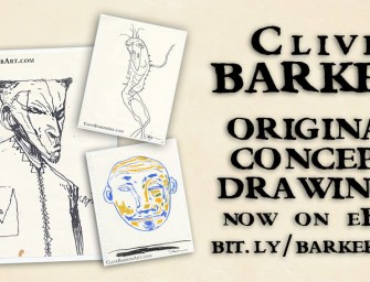 Clive Barker Drawings on Ebay!!!