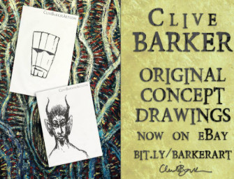 More Clive Barker Artwork on ebay!!!