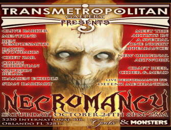 New Clive Barker Art to Be Shown at Necromancy… A Dark Art Event