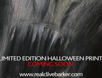 Limited Edition Halloween Print Coming from Clive Barker