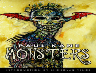 Review: Monsters by Paul Kane – Rob Ridenour