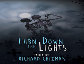 "New paperback edition of Turn Down the Lights with Clive Barker's ""Dollie""!"
