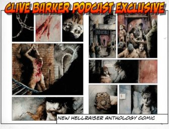 New Hellraiser Anthology Comic From Clive Barker's Seraphim Inc