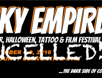 Spooky Empire Cancelled