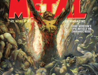 Pick Up the New Heavy Metal Magazine