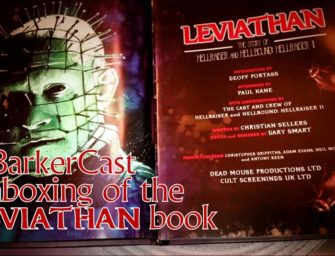 """Leviathan"" Doc Companion Book Unboxing"