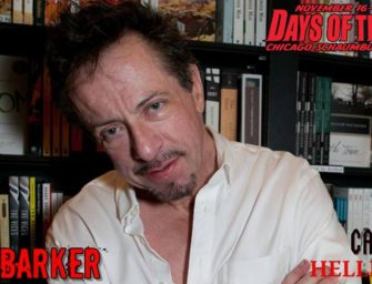 Clive Barker Announced for Days of the Dead Chicago 2018