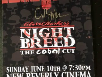 """Signed """"Cabal Cut"""" Posters for Sale"""