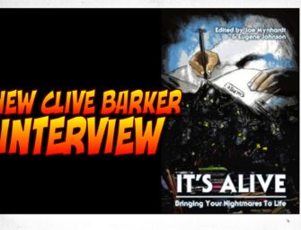 New Clive Barker Interview [Update: Pre-Order Now]