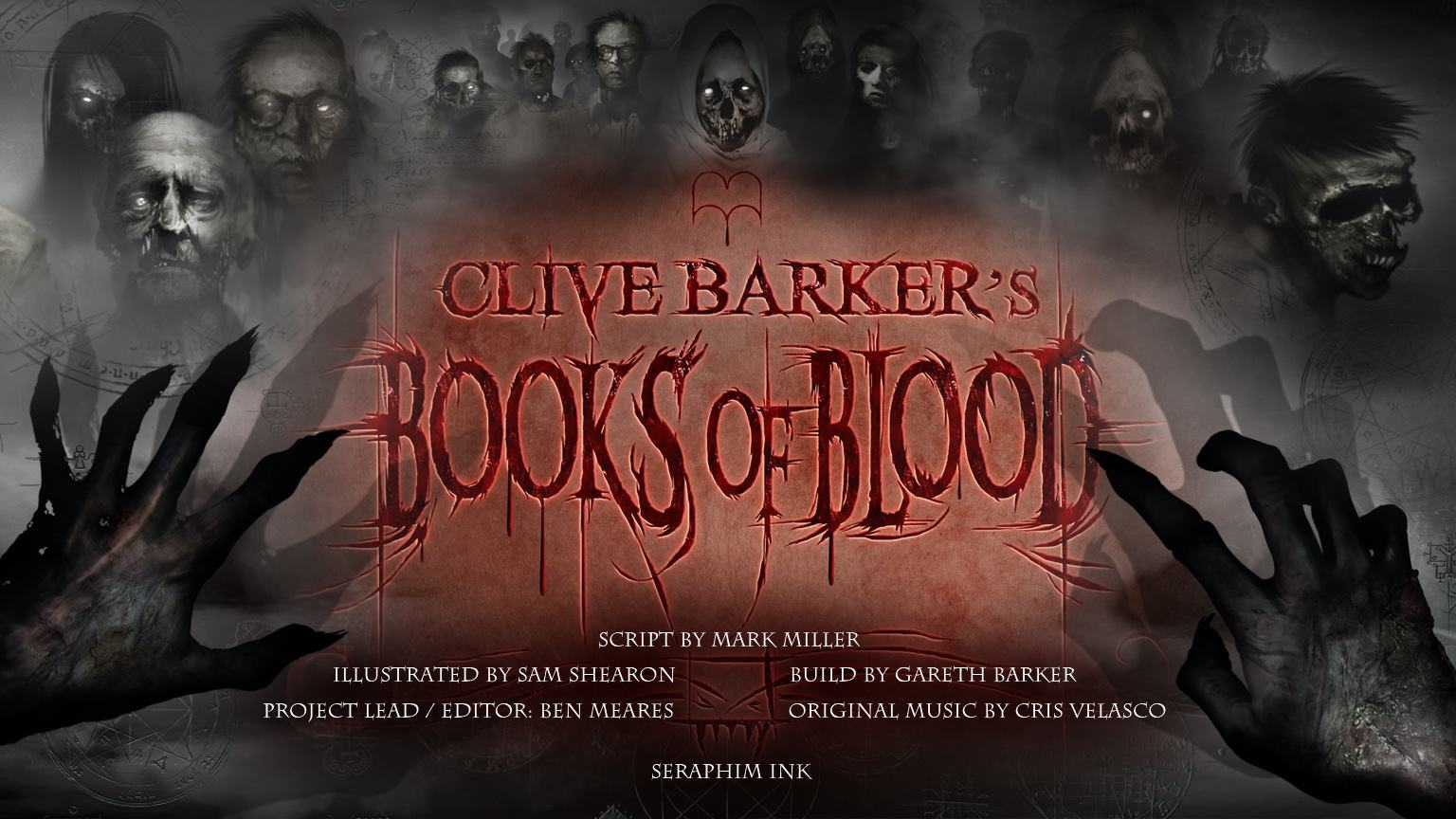 blood books clive barker horror madefire stories volume motion clivebarkercast debuts app deviantart coming classic