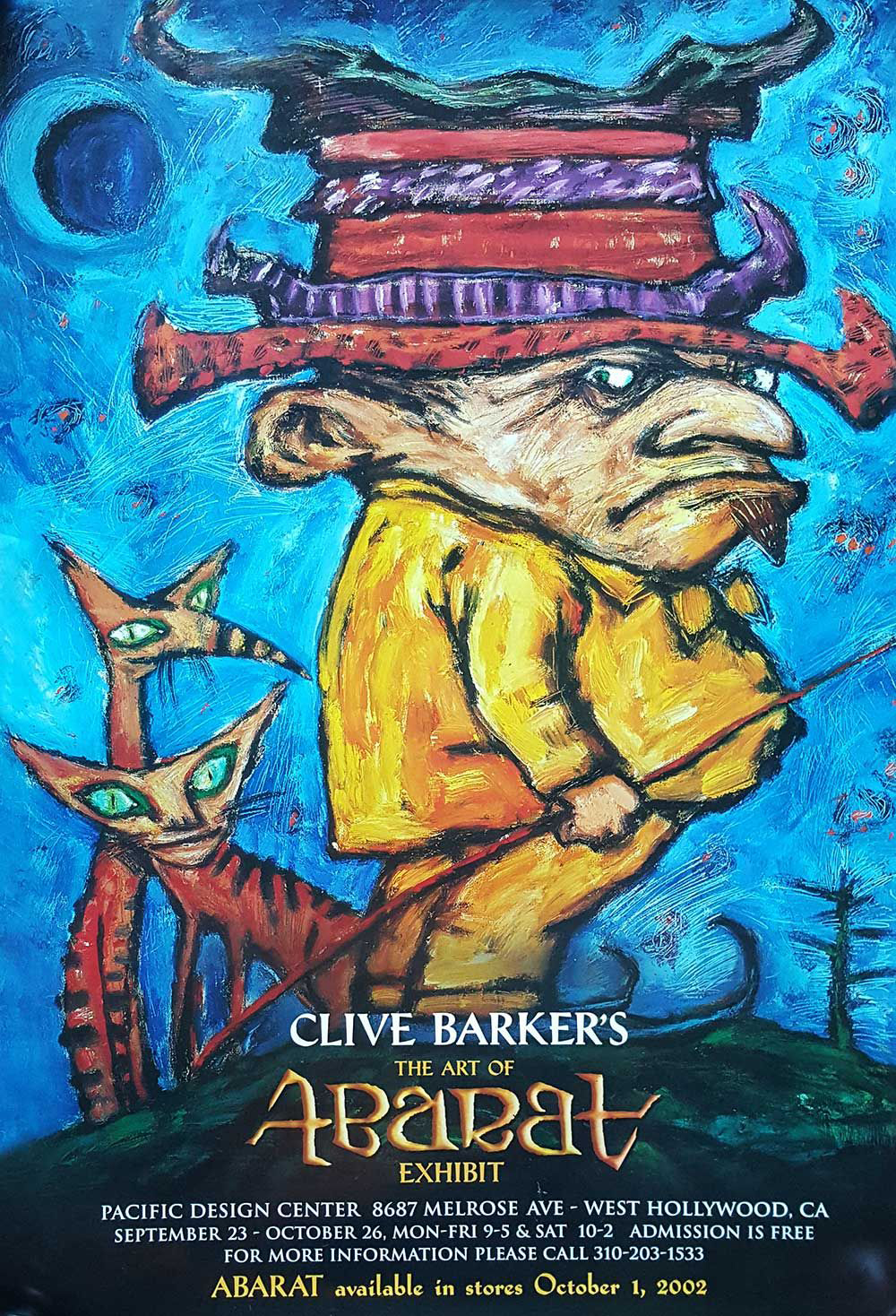 Signed Abarat Posters Available From The Clive Barker